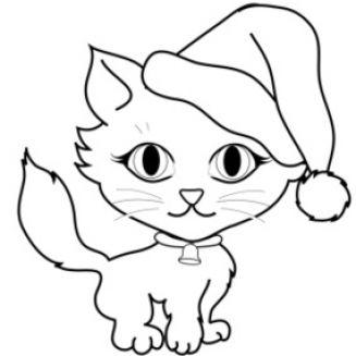 White clipart cat face Art Cat Black Free Clipart
