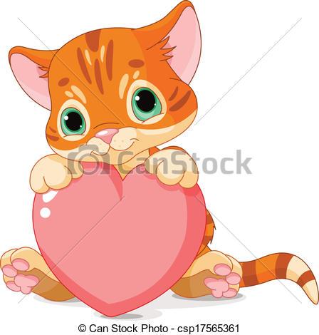 KITTENS clipart love 523  Day free Kitten