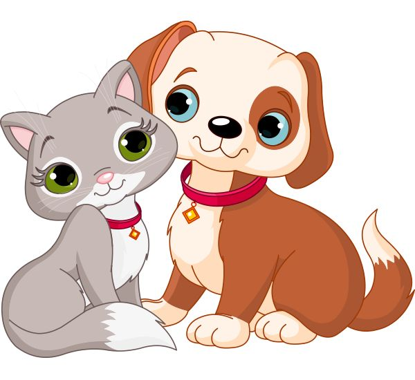 Line Art clipart puppy kitten Art and Puppy Dog And
