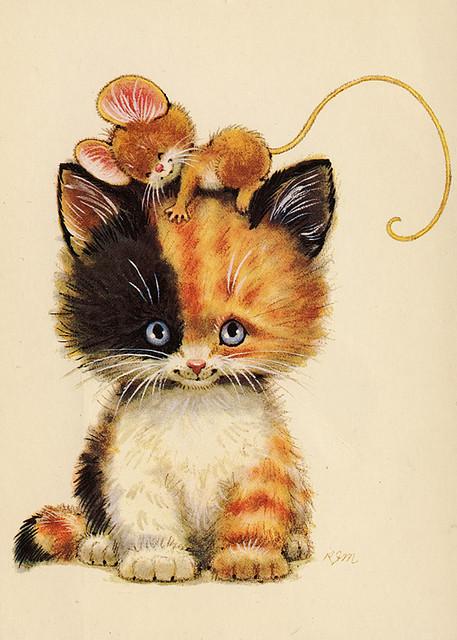 KITTENS clipart orange cat Looks ghost the so Kitty