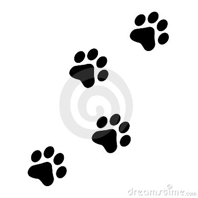 Small clipart paw print Free Clip Free Dog Download