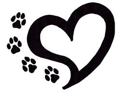 Wildcat clipart paw print Gclipart Cat paw com paw