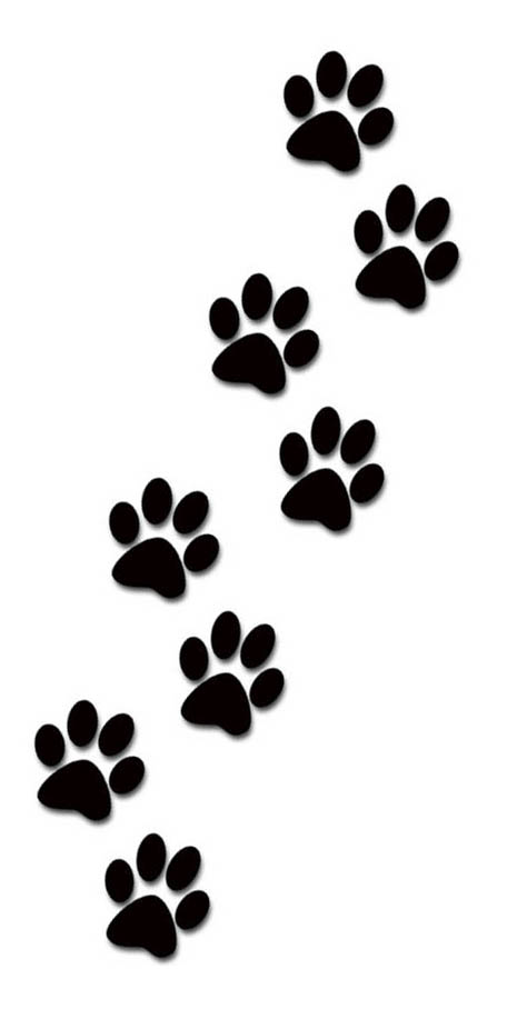 Small clipart paw print Clipart Paw paw Prints prints