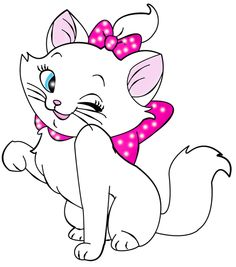 KITTENS clipart pink cat Clip Pictures superhero nails charlottes