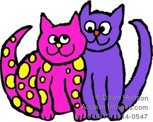 KITTENS clipart pink cat Cat Panda Clipart Art cute%20cat%20clip%20art