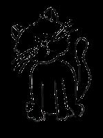 Sad clipart kitten #5