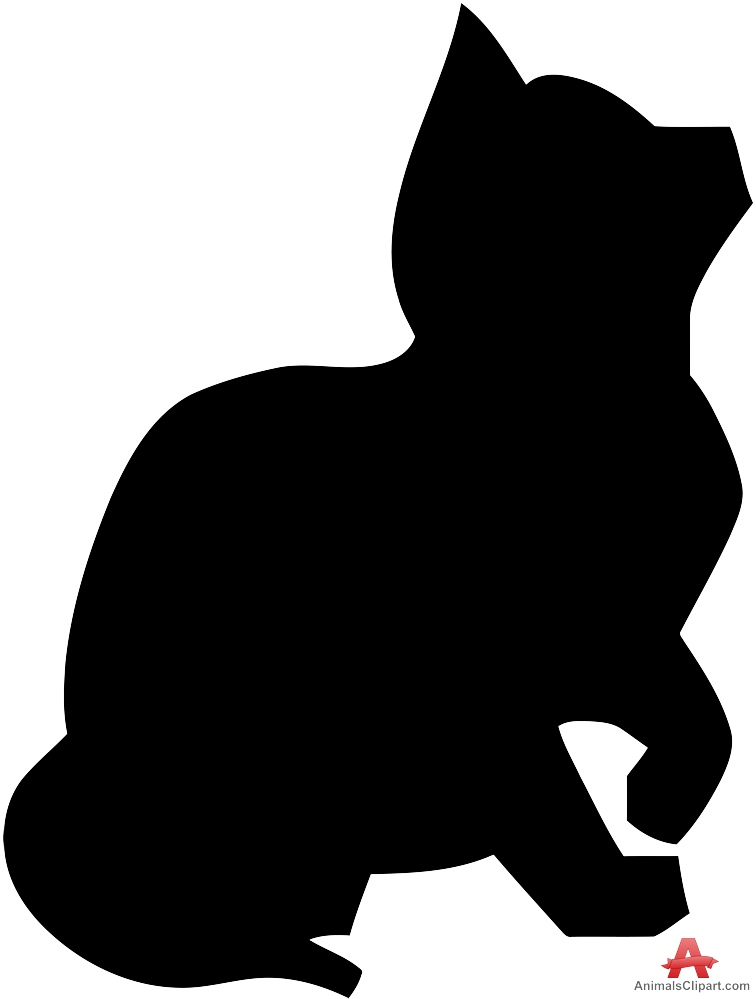 KITTENS clipart silhouette Download Clipart Free Silhouette Design