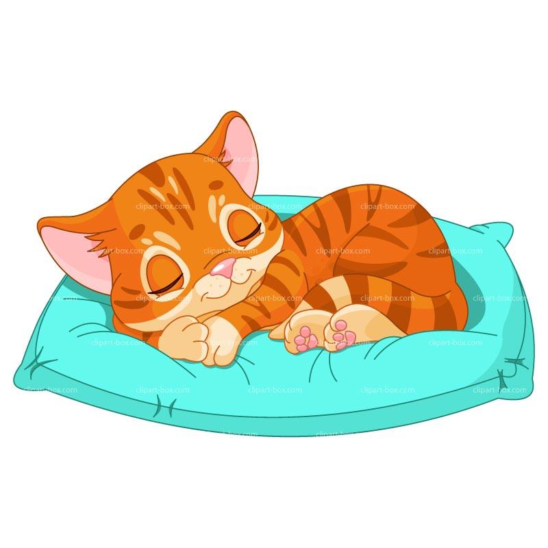 KITTENS clipart sleeping Royalty KITTEN SLEEPING CLIPART free