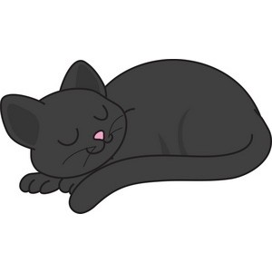 KITTENS clipart sleeping Zone Cliparts Cliparts Clipart Cat