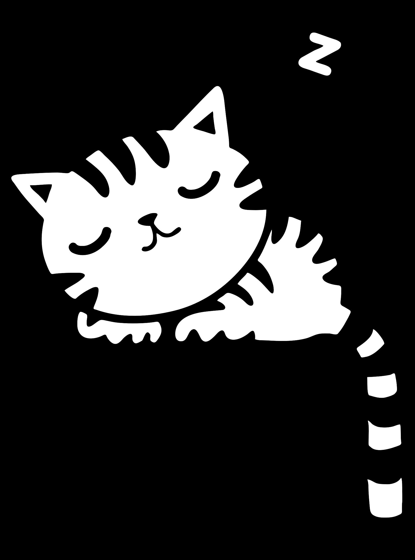 KITTENS clipart sleeping Clipart Kitty Clipart Sleeping Kitty