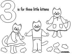 KITTENS clipart three little kitten Three on kittens 3 best