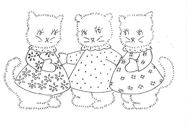 KITTENS clipart three little kitten Pages Cliparts Kitten and 58