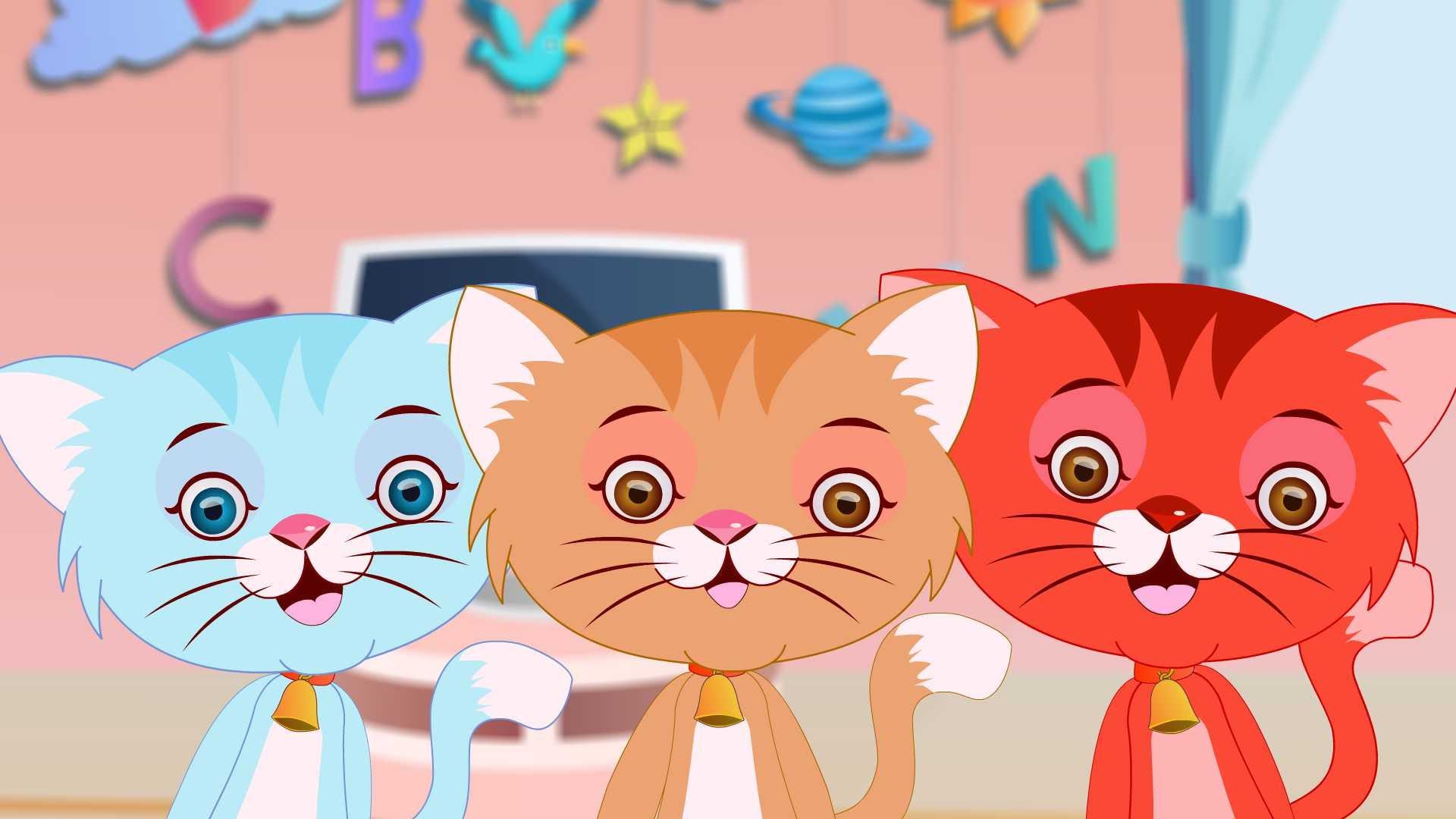KITTENS clipart three little kitten Little Little Three Rhyme Kittens