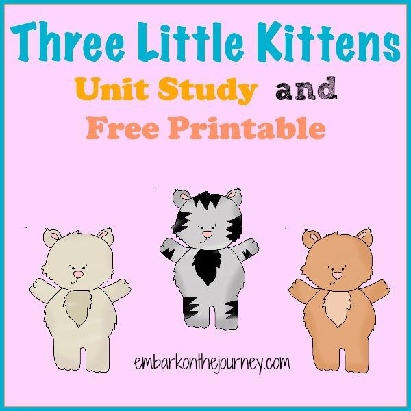 KITTENS clipart three little kitten Clipart The Collection Little Free