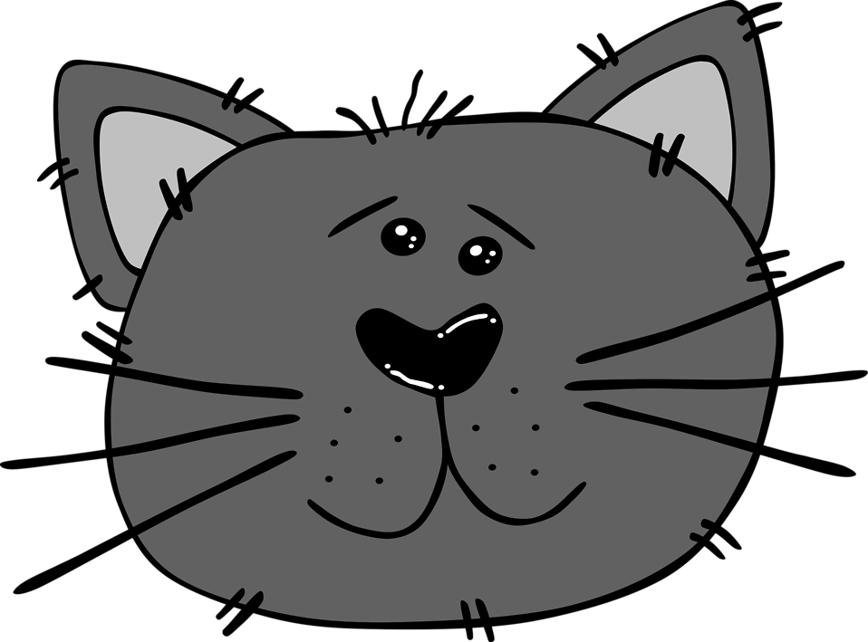 KITTENS clipart transparent background Transparent Free face Cat clipart