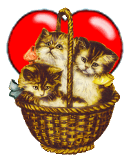 KITTENS clipart valentine Graphics clipart heart Valentine free
