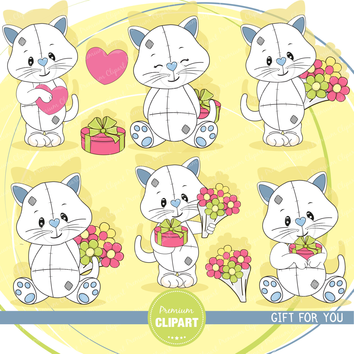 KITTENS clipart valentine Clipart clipart This Cat clipart