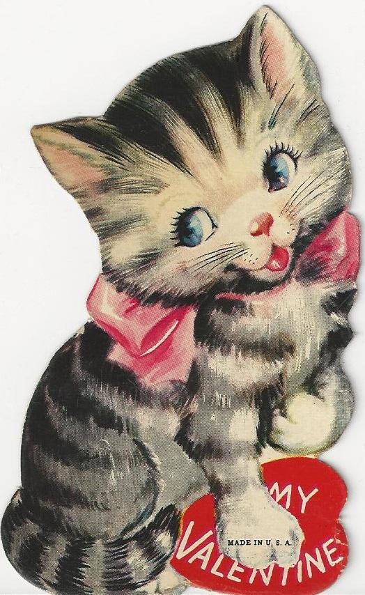KITTENS clipart valentine 222 dolls The kitten Valentines