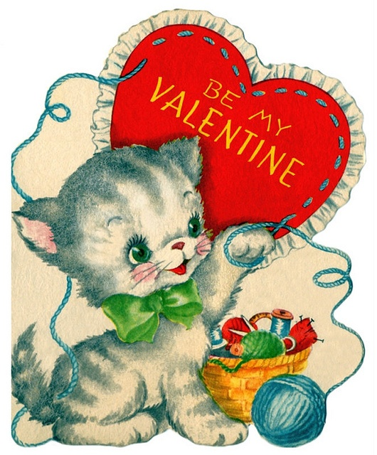 KITTENS clipart valentine's day Day and best Valentine's images