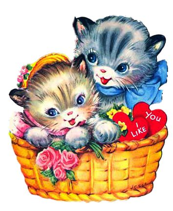 KITTENS clipart valentine's day Day kittens about Day on