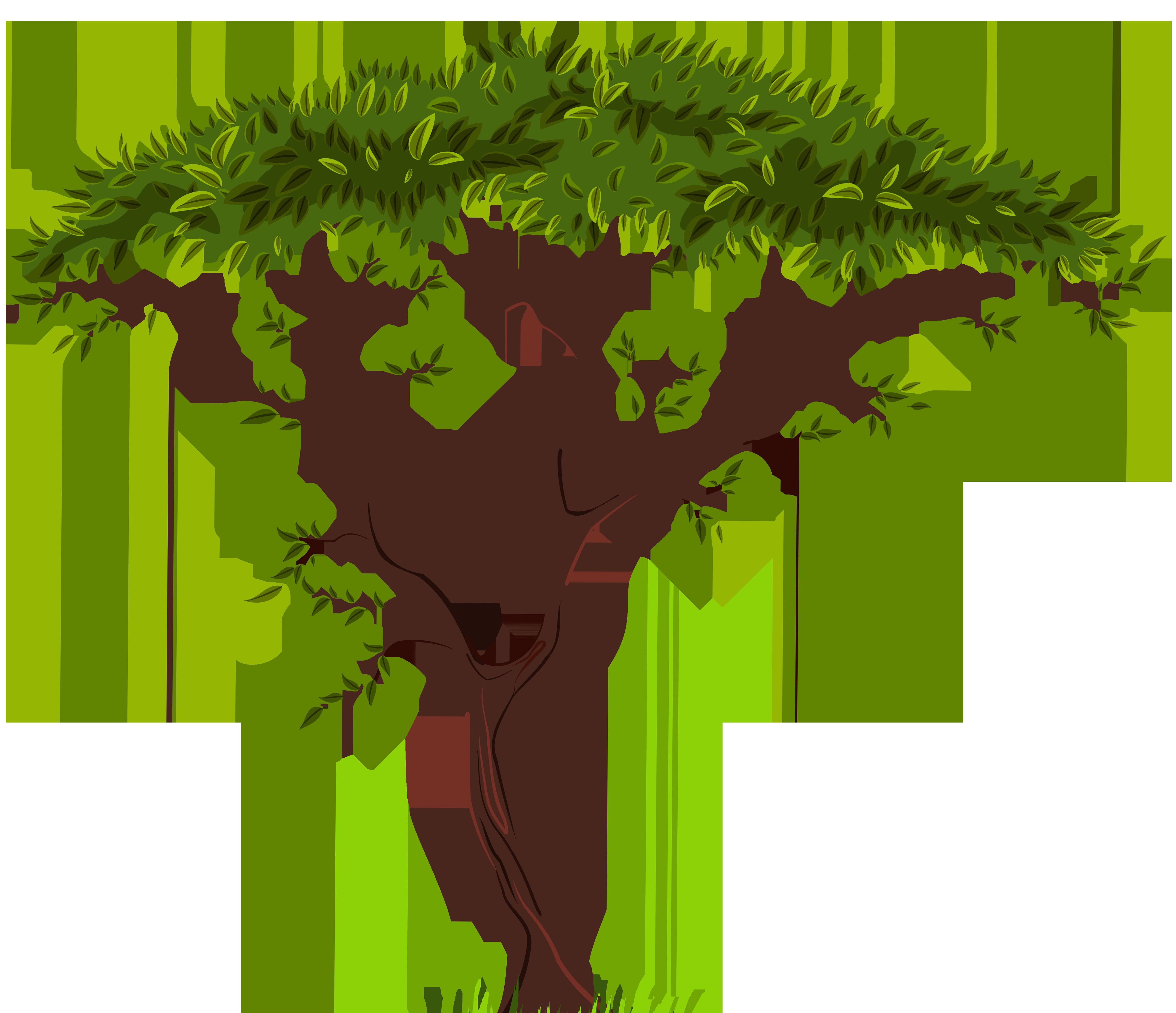 Tree clipart kiwi #3