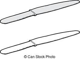 Knife clipart drawn Drawn Vector Clipart Sharp Tongue