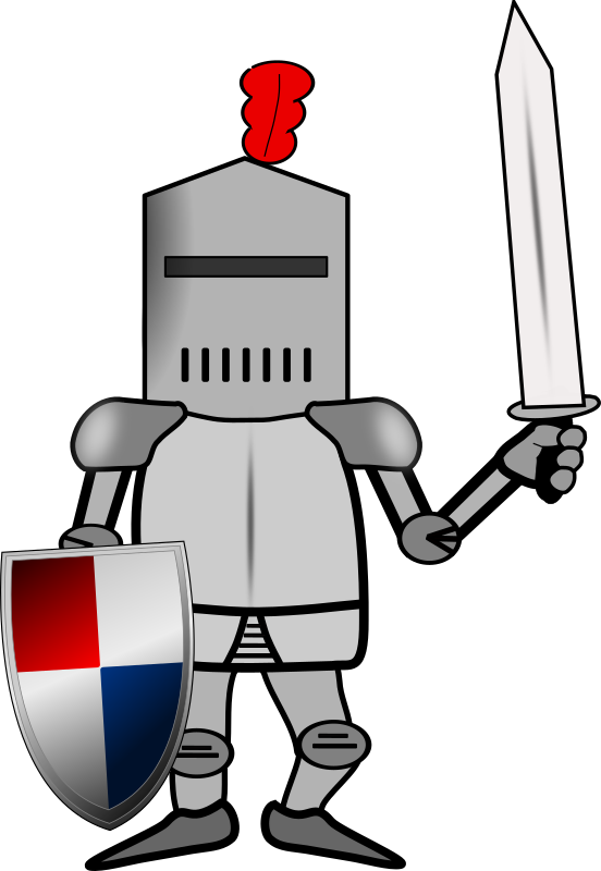 Knight clipart animated MEDIUM IMAGE Chevalier (PNG) levé