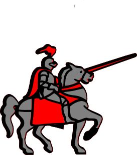 Knight clipart animated Art Medieval Knight about 2157