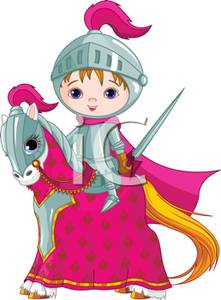 Knight clipart baby Knight A Riding A Riding