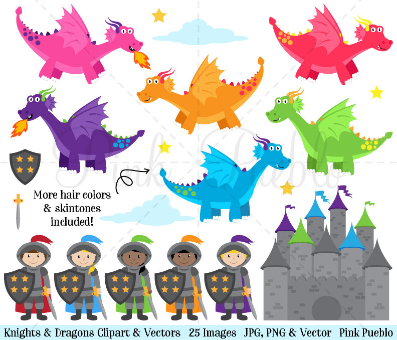 Knight clipart baby And art (76+) Dragon knight