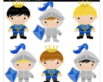Knight clipart baby Knights Princess Etsy prince On
