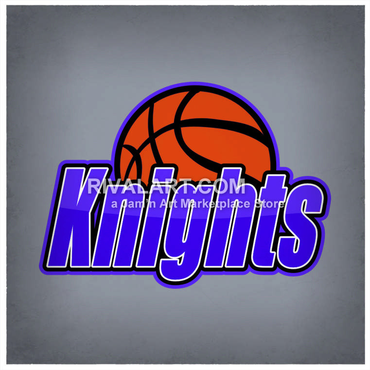 Knight clipart basketball Basketball Basketball In Knights Color