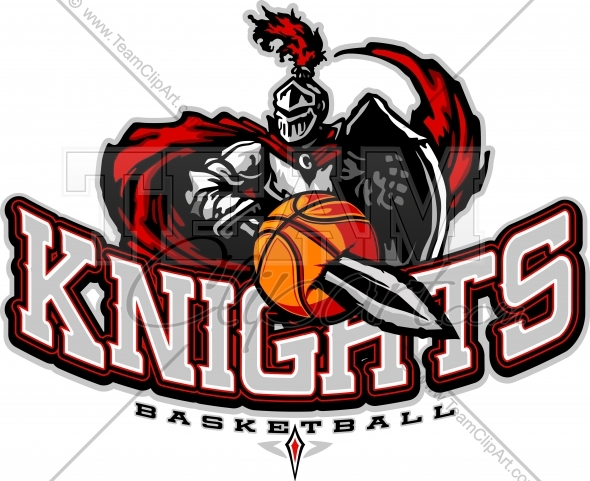 Knight clipart midieval Knights Logo Vector Sports Image