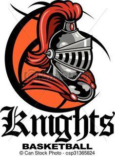 Knight clipart basketball Illustration designs clip icon stock