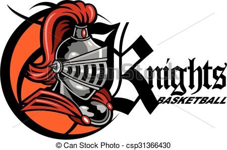 Knight clipart basketball Of with helmet Vectors