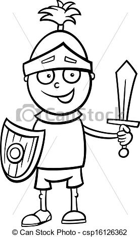 Knight clipart black and white Images Free Knight White Clipart
