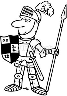 Knight clipart black and white Clipart graphics clipart clipart and