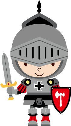 Knight clipart brave kid E Minus Minus Princesas fadas