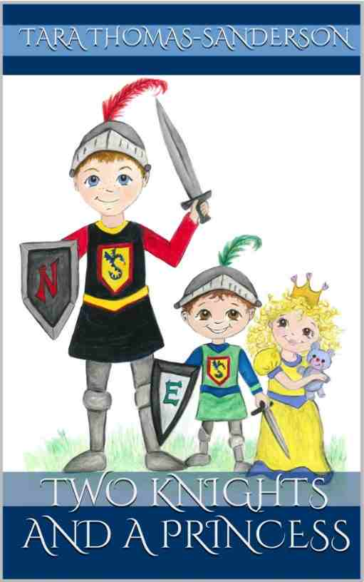 Knight clipart medieval soldier Two Book Cover Children's Princess