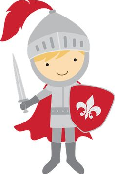 Knight clipart cute knight Knight Digital AlvesClipartMedievalSilhouetteAppGeorgeBoy Commercial Use