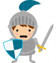 Knight clipart cute knight Storybook My Little Knight