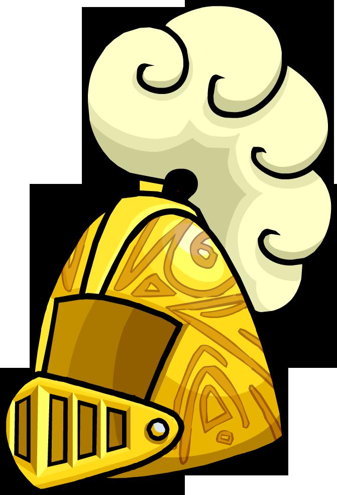 Knight clipart hat Helmet Wikia Golden  by