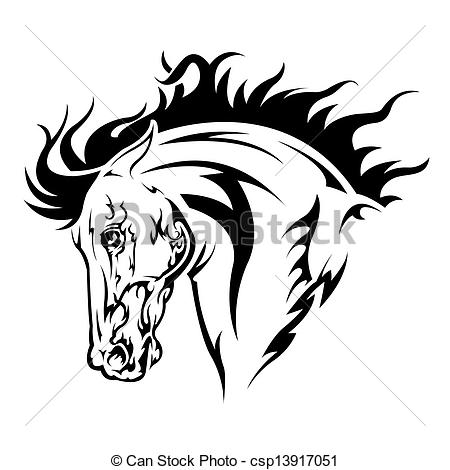 Knight clipart horse logo Clipart white In picture black