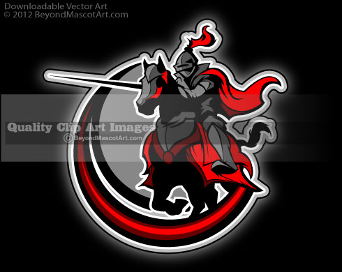 Knight clipart horse logo Jousting 0443 Download Adobe 0