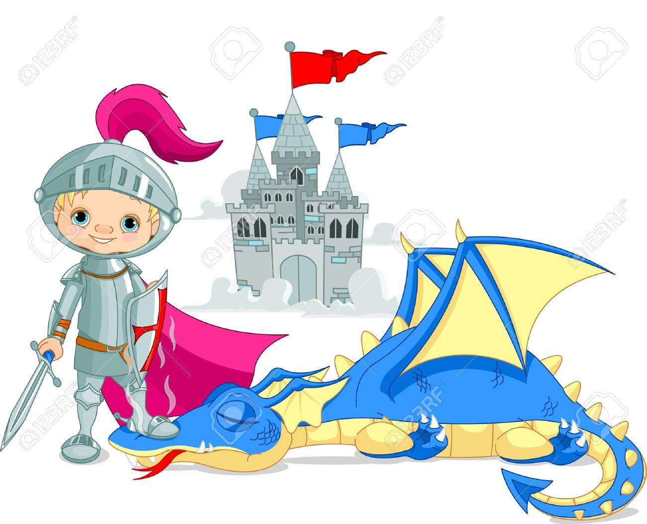 Little Dragon clipart knight dragon Art knight Knight Clip Art