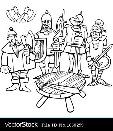Knight clipart knights the round table Page table 177 best table