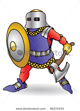 Medieval clipart knight battle Round the Round info Table
