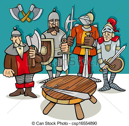 Knight clipart knights the round table Clipart the info round table
