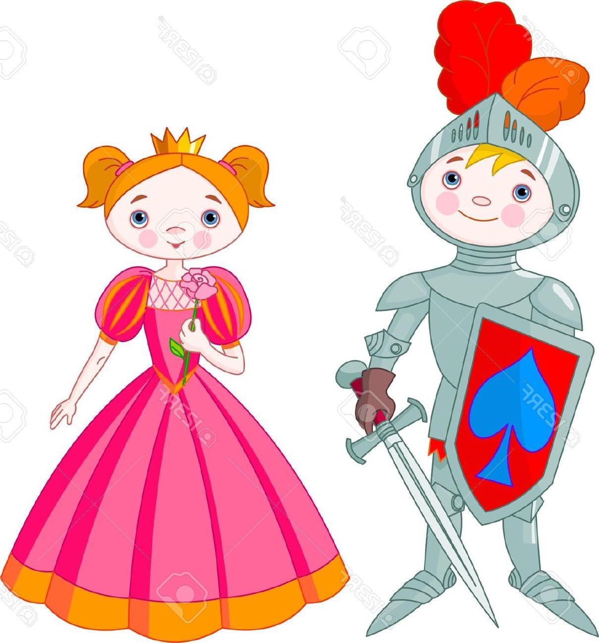 Knight clipart little boy Boy Girl  And Little