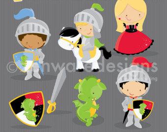 Knight clipart little boy Clipart Little Etsy clipart Knight